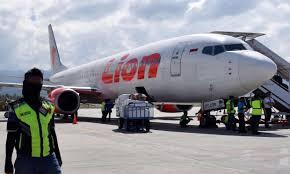 Máy bay Lion rơi xuống biển indonesia