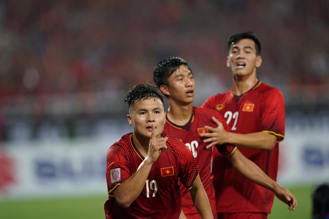 Việt Nam chiến thắng philippines vào chung kết AFF Cup 2018