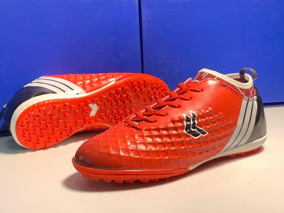 giày đá bóng màu đỏ 3 ramus