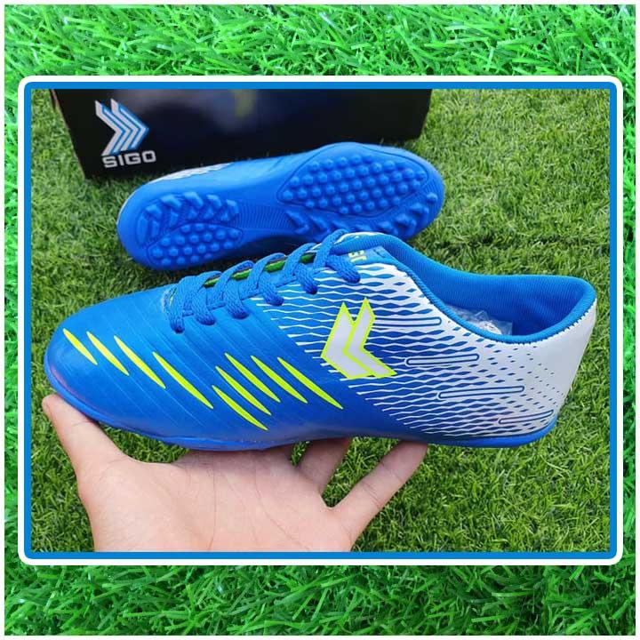 giày đá bóng trẻ em màu xanh dương