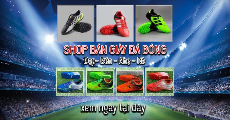 shop bán giày đá bóng uy tín nhất